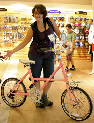 Pink It and Shrink It: Giant Mini Velo