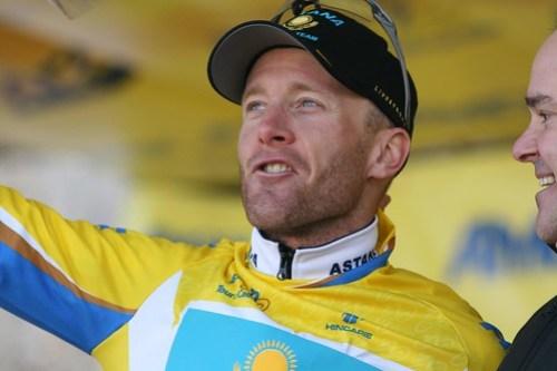 Levi Leipheimer Yellow Jersey