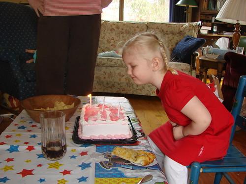 Ellie's third birthday