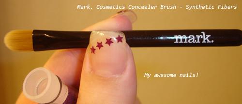 Mark cosmetics concealer brush