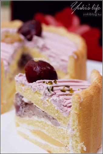 [試吃]*OK超商~統一蛋糕屋蒙布朗芋泥蛋糕