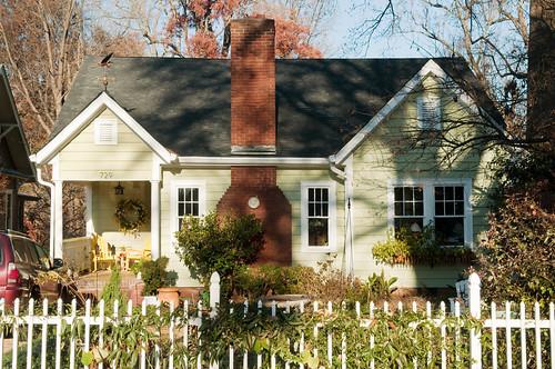 bungalow, Elizabeth, Charlotte, North Carolina