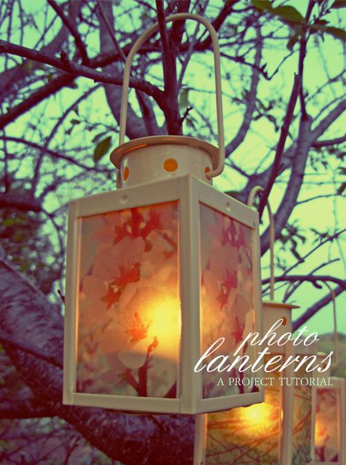 Craft Tutorial: Photo Lanterns