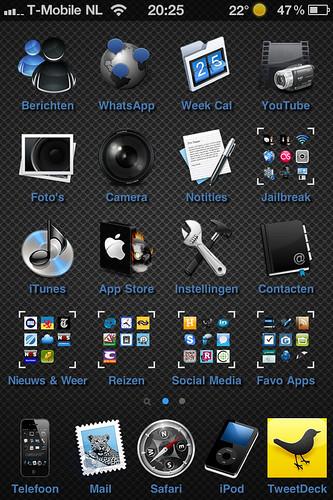 Post jouw #homescreen van je iPhone!!!