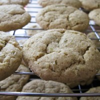 Lime Cardamom Pumpkin seed cookies...