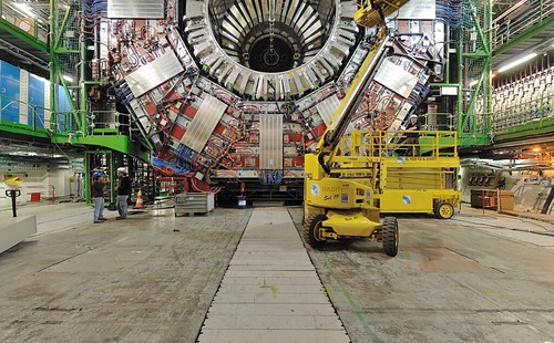 Still from QTVR of Large Hadron Collider, photog: Pete McCready