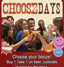 TGI Fridays ChooseDays