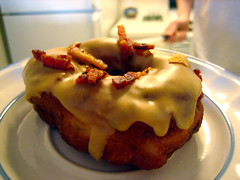bacon maple donut