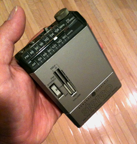"""my first """"walkman"""" - from 1984"""