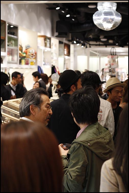 2010.04.27 Pass The Baton Omotesando Store Opening Party 3