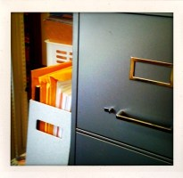 File cabinets. Think of the stock opportunities.