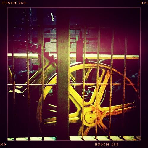 Wheels grind exceedingly fine