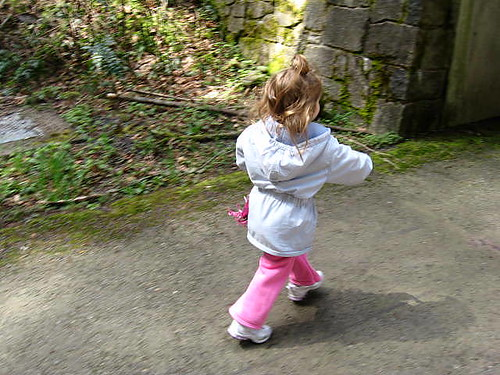 Running Down the Nature Trail