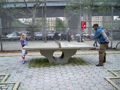 Intergenerational ping pong