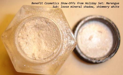 Benefit Cosmetics Merengue Show-Off Loose Eyeshadow