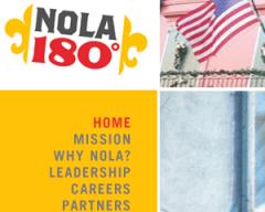NOLA 180 Web Site
