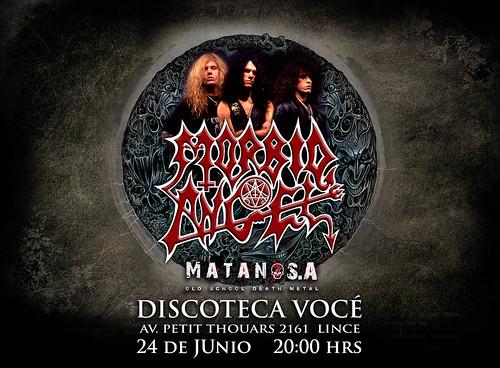 Morbid Angel concierto en Lima, Peru