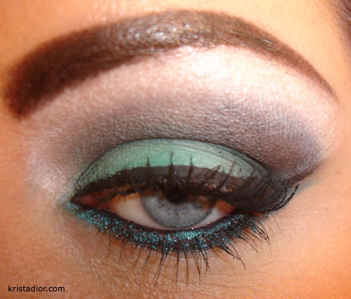 Coastal Scents Green Eye Shadow