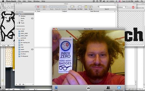 Inbox Zero Merit Badge