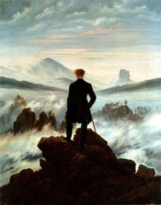 der Wanderer Ueber Dem Nebelmeer