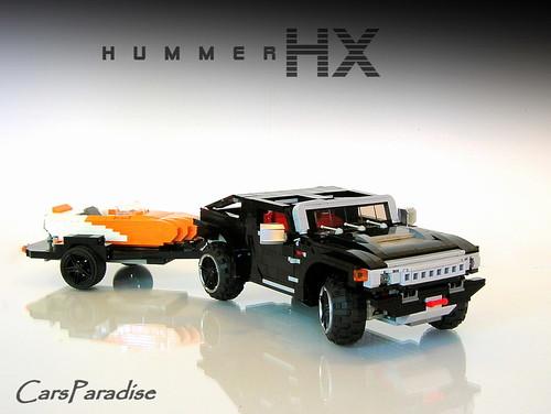 Firas' LEGO Hummer HX