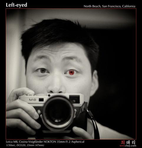 Left-eyed
