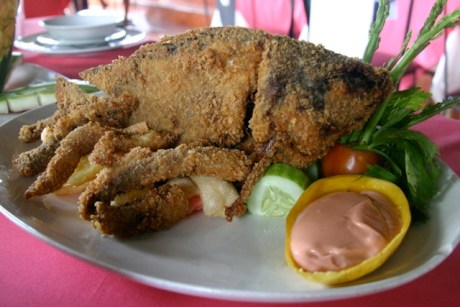 Dolores Farm Resorts Crispy Tilapia with Mayo Dip