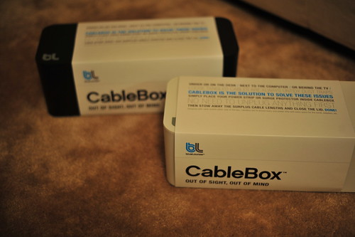 Blue Lounge Cable Box(es)