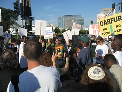 OUTRAGE Rally for Darfur 2