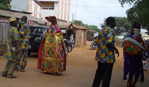 Voudun ceremony, Ouidah, Benin