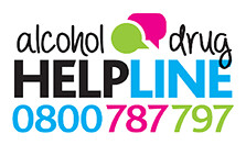 Alcohol and drug helpline logo