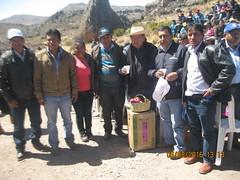 INAUGURACION REPRESA ESCALERA EN CONVENIO CON EL GOBIERNO REGIONAL