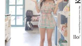 [穿搭] 紫色韓國。極度熱力夏日魅力
