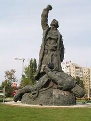 """Complexul statuar  ,,1907""""din  București"""
