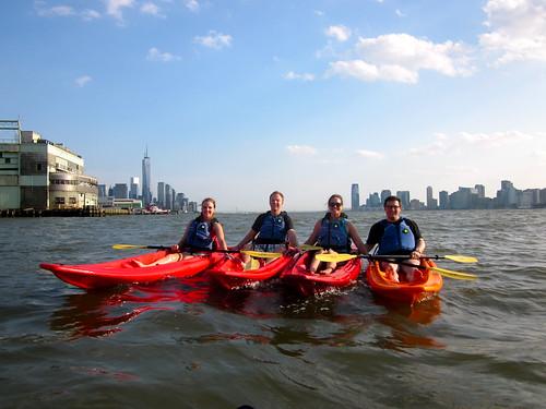 Kayaking the Hudson River