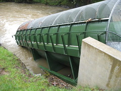 Close up of Archimedes Screw