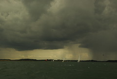 Nuages dans le Golfe du Morbihan