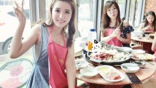 [旅遊] 2014韓國小旅行。住在首爾新村很方便 part1 /八色烤肉/南瓜食堂/新村烤肉/春川辣炒雞/神仙雪濃湯/Twosome Place/ISAAC