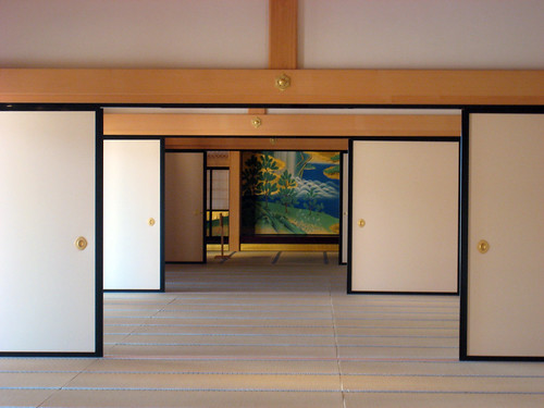 Sliding doors are great in the home