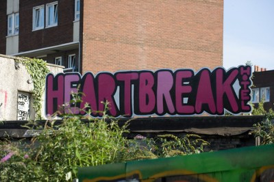 Dublin Graffiti   Heartbreak Hotel