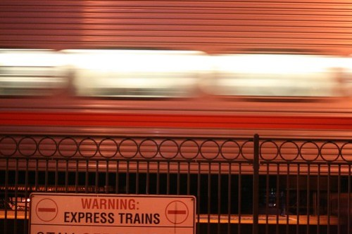 WARNING: Express Trains