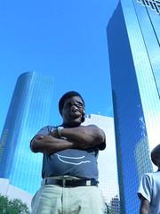 Reggie at the Houston International Festival