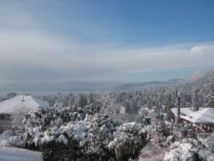 Christmas morning in West Van