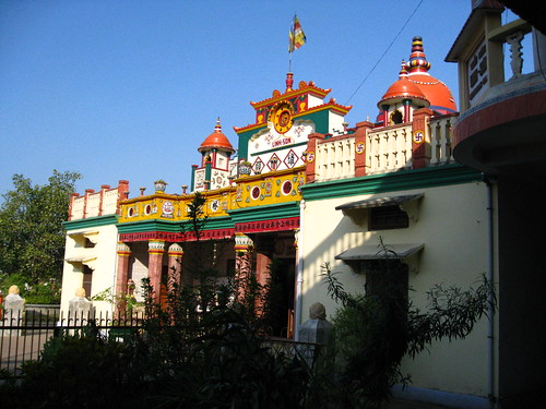 Lin Son Myanmar Buddhist Temple, Kushinagar, India