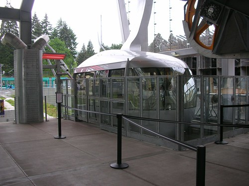 Portland Aerial Tram car