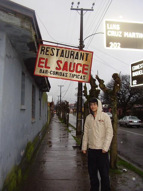 Me encontré con el sauce en San Carlos