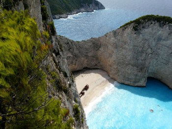 beautiful Greek beach