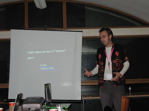 Ant's talk on 'BBC Micro for the 21st Century