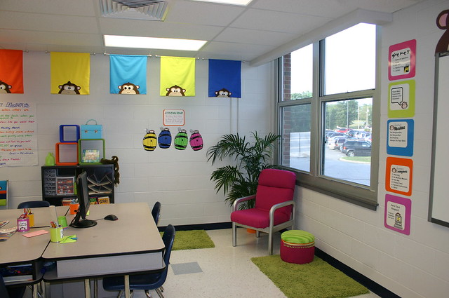 Reading Corner and Flags