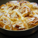 Vegan Pumpkin Cinnamon Rolls